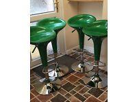 Set of 4 kitchen stools