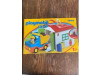 Playmobil Tipper Truck and Garage BNIB 70184