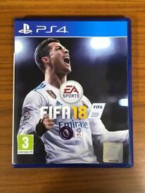 NEAR NEW: FIFA 18 PS4