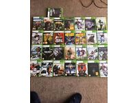 28 xbox 360 games price is for all 28 call of duty far cry fifag battlefield assasins creed