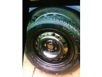 Honda Civic spare wheel with Dunlop SP sport tyre never been used
