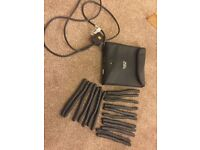 FREE DELIVERY OR POST NICKY CLARKE FLEXI-STYLERS HEATED ROLLERS BENDY RODS CURLERS TRAVEL POUCH