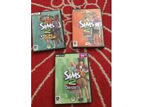 X3 pc games sims 2 !!!! £5 all