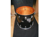 "Slingerland 14"" x 14"" (floor) tom (1970's) USA: 3 ply mahogany shell; 10 lug*"