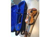 Stentor 1/2 violin.