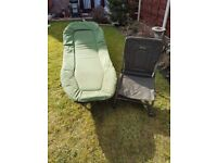 JRC bedchair and Wytchwood guest chair