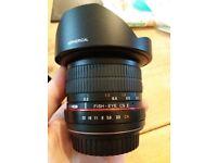 Samyang 8mm Lens - Canon Fit