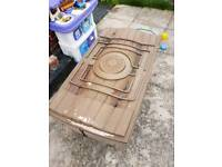 Outdoor sand pit & water tray