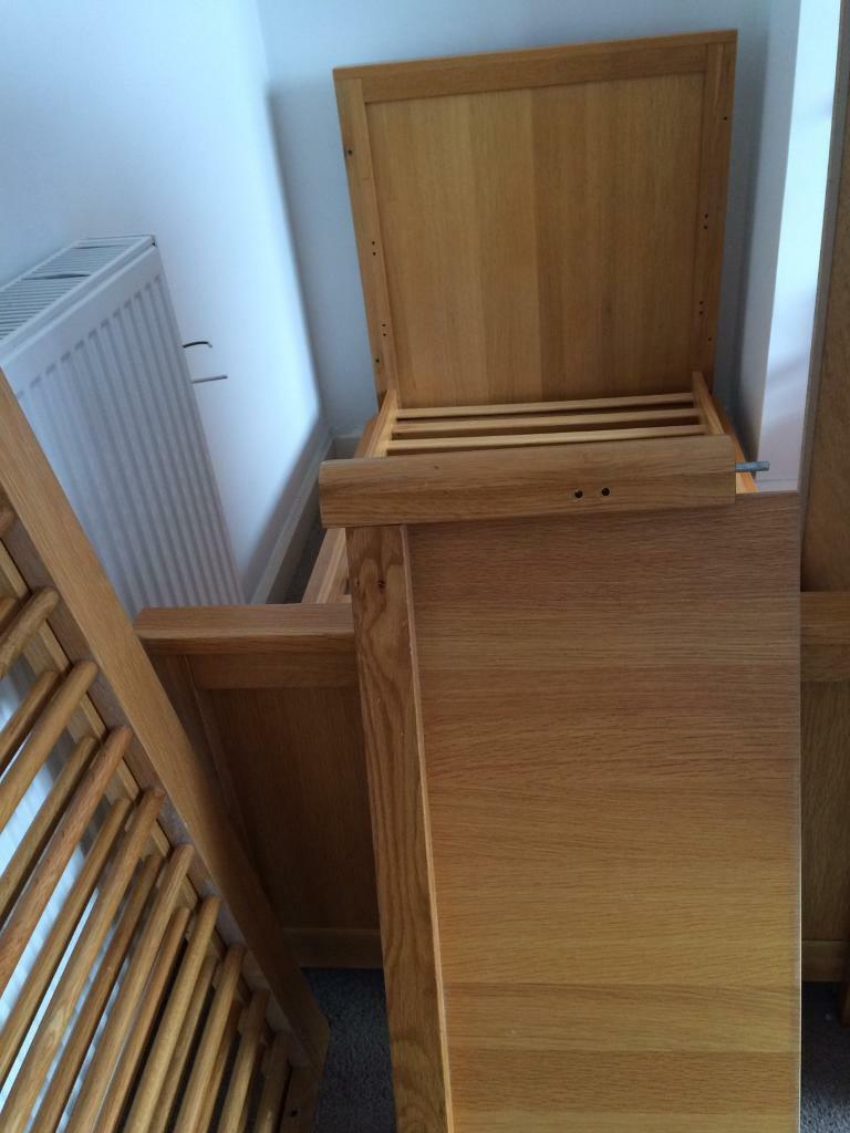 Marks and Spencer's chloe oak cot bed