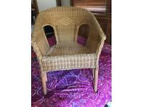 Ikea basket chair