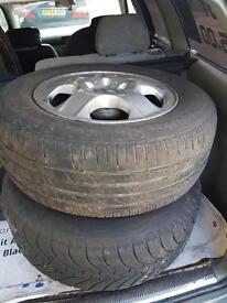 Mercedes Ml270 alloy wheels