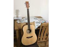 Hudson Guitar - Model Number: HI100-E, Electric Acoustic