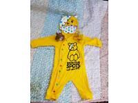 Children in need 3-6 months & 2 teddys