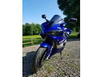 2001 Yamaha R1 5JJ Blue Very Tidy