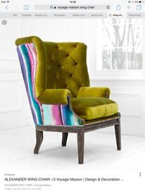 Voyage Maison Wing Chair brand new
