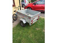 Erde 101 box camping tip run trailer