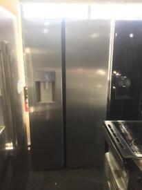 NEW**American style fridge freezer 2door Ice & Water silver PRP £899 Warranty Included SALE ON