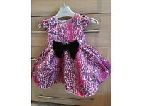 Baby K design, party dress, excellent condition age 12/18 months
