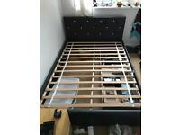 Black double bed £25*