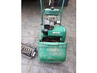 qualcast classic lawnmower and scarifier attachment