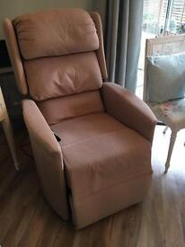 Electric reclining chair for elderly person