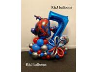 Air and helium balloons