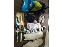 Full cricket set up