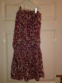 Next summer bandeau dress size 8 ideal for holiday