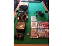 Gamecube console black
