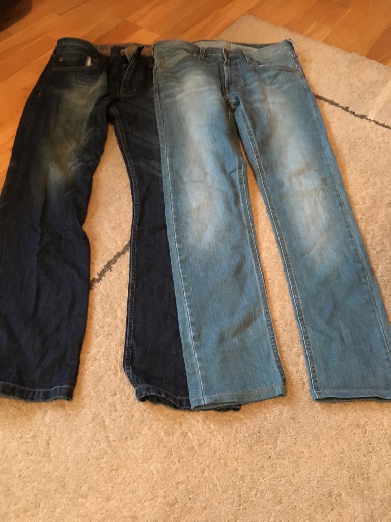Men's jeans easy & red herring