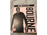 Bourne - ultimate collection 4K Ultra UHD Blu-ray