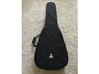 Stronghold Lightweight Dreadnought Acoustic Guitar Hard Case / Bag in Black.