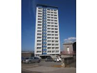 Bedsit, 12th Floor - Tavy House, Duke Street, Mount Wise, Plymouth, PL1 4HL