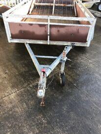 Twin wheel trailer Factory made