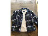 Joules lined winter shirt aged 5