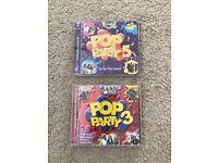 Pop CDs x2