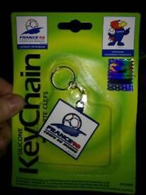 france 98 keychain joblot