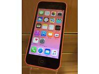 iPhone 5c Pink on O2 8gb