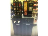 Flavia brewer S350 drinks machine and capsule holder&base unit