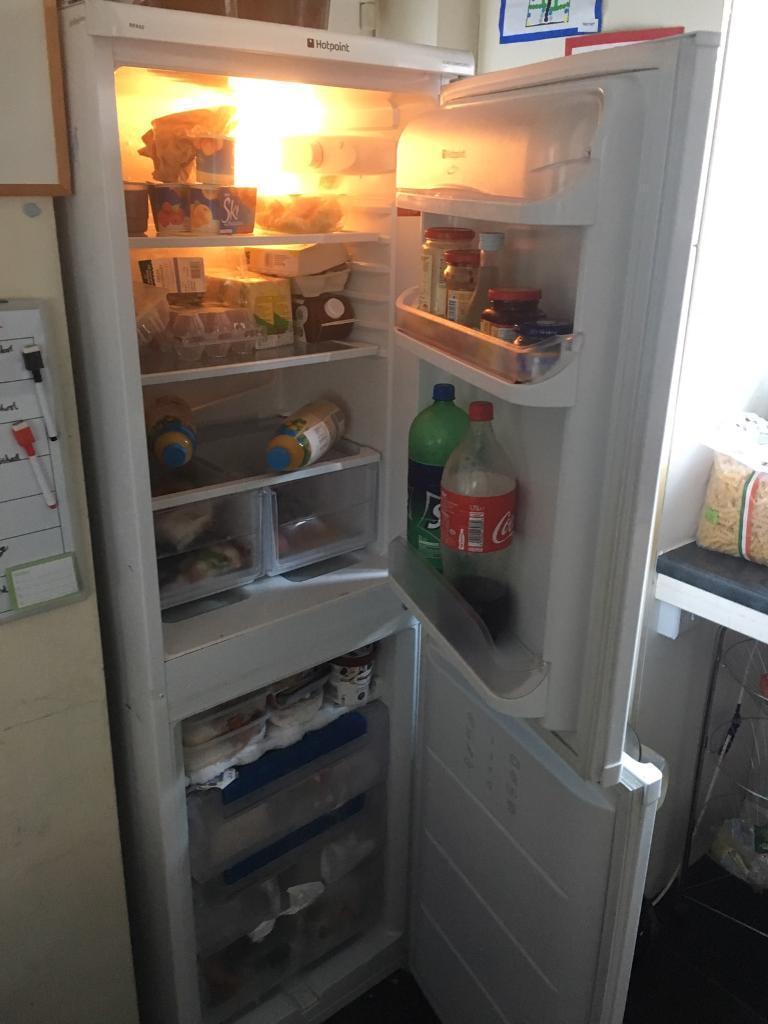 Hotpoint 50/50 fridge freezer