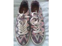 Ladies Next canvas shoes size 6
