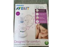 PHILLIPS AVENT SINGLE ELECTRIC BREAST PUMP DESIGNED FOR COMFORT