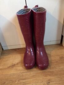 Red Herring Wellie boots
