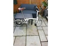 Brompton folding bike, p type,