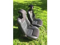 SAAB FRONT LEATHER SEATS VOLKSWAGEN T4 AND T25