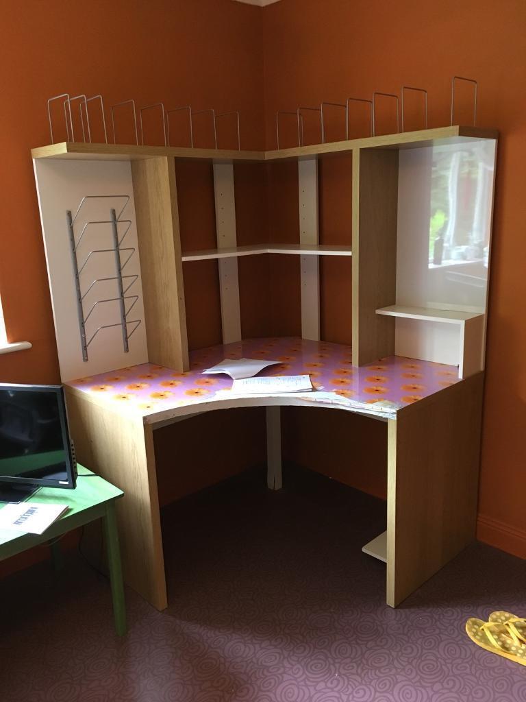 Corner desk | in Salisbury, Wiltshire | Gumtree