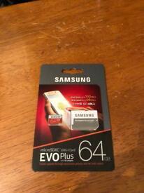 Samsung evo 64gb micro sd card