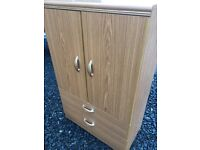 Quality two drawer chest mini robe combo,