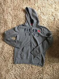 Genuine Abercrombie & Fitch hoody American size 15/16 small fitting.