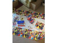 Superhero girls party decorations